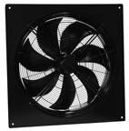 Осевые вентиляторы низкого давления Systemair AW